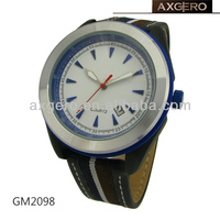 Sport watch with fashion nylon strap