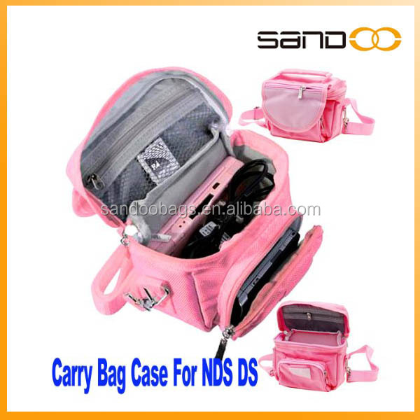 Travel Bag Carry Case for Nintendo NDS 3ds Ds Lite Dsi with fashion shoulder bag