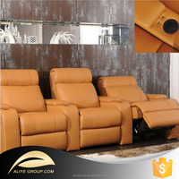 AS73-yellow leather sofa and adjustable sofa bed hinges