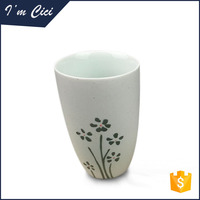 Factory wholesale plain white morning personalized porcelain mugs CC-C111