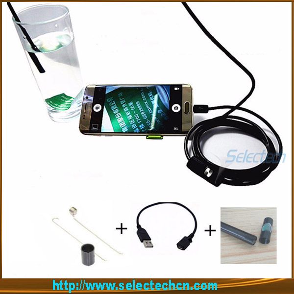 SE-U5.5 Newest OTG Phone Waterproof Android Endoscope With 5mm usb endoscope pipe inspection camera