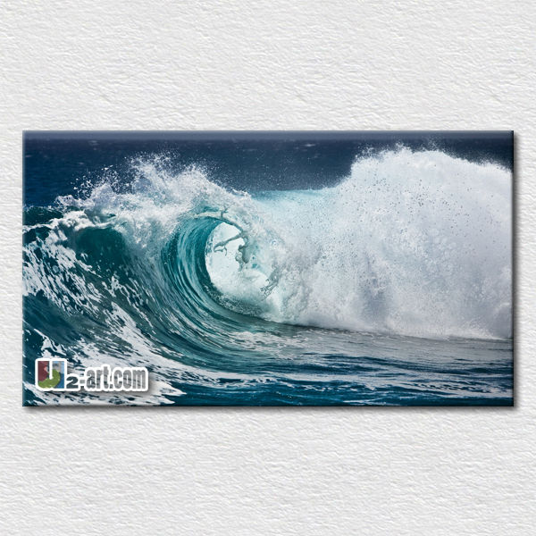 Strong sea ocean waves oil painting for bedroom wall <strong>decoration</strong>