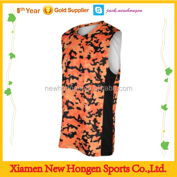 Basketball jersey color and design
