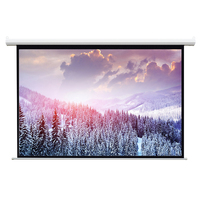 200 inch motorized 16:9 remote control projector screen