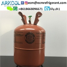 Refrigerant r407 c r410a gas price for sale