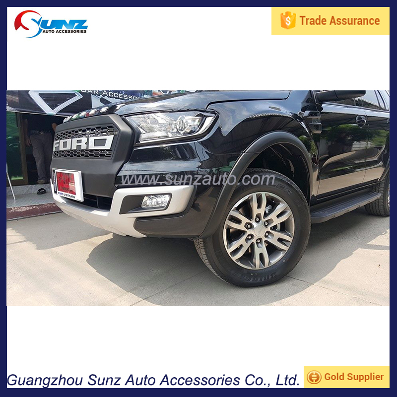 Wheel Arches OEM Fender Flare For Ford Everest 2016 Wheel Trims OEM Everest Mud guards Front Endeavour Fender Flare Accessory
