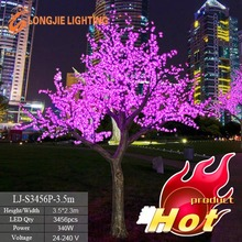 white blossom tree led christmas lights flowering tree light