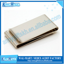 Factory price wholesale metal double side money clip