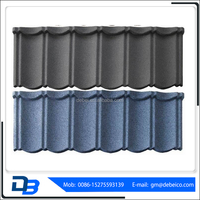 Classic Roofing Tiles Metal Stone Coated With Low Price