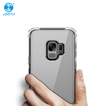 2018 Best Products for Samsung Galaxy S9 Case Mobile Cover Shockproof TPU PC Crystal Clear Mobile Phone Case