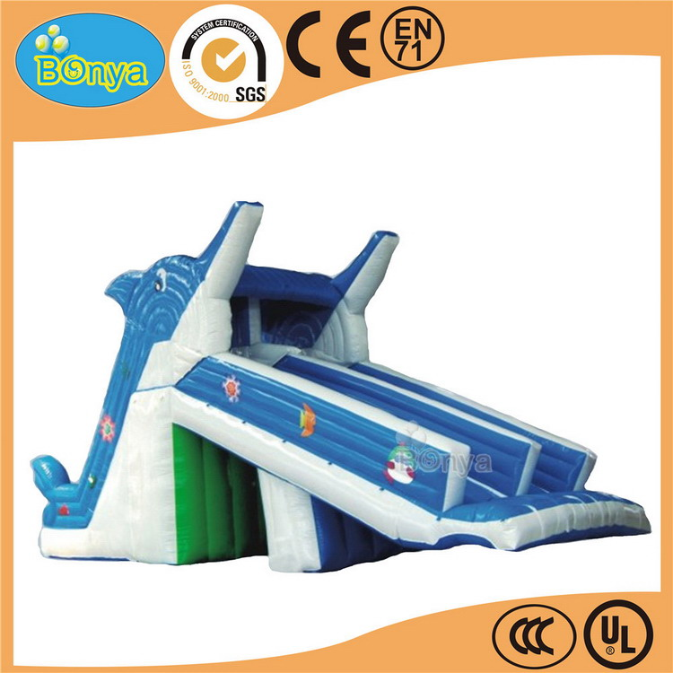 Welcome wholesales nice looking inflatable tropical water slide
