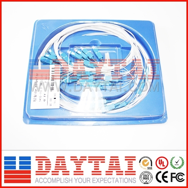 Single fiber FTTH 1x16 PLC Optical Splitter in cassette type