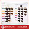 Guangzhou asian hair color chart,OEM hair color shade,hair color swatch chart book