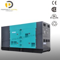 Water Cooled 250kva Silent Diesel Generating Set with PERKINS engine
