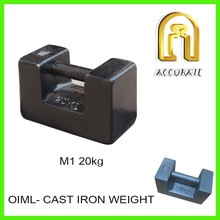 20kg class M1 mass, cast iron elevator weight, load test weights