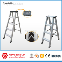 6063-T5 Aluminium dual side A type folding step ladder