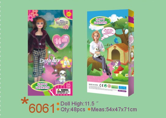 DEFA Lucy doll maker flexible doll best toys plastic toy manufacturer