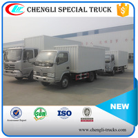 DONGFENG 100hp 4*2 5ton Cargo Box Truck 5000KG Van Delivery Truck