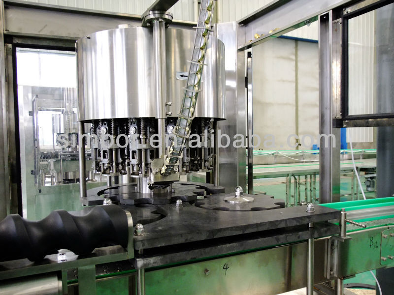 automatic wine glass bottle aluminium cap sealer machine