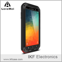 New Original LOVE MEI Powerful Shockproof Slipproof Waterproof Metal Case for Samsung Galaxy Note 5 N9200