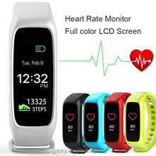 Top Sale 2017 L30T Colorful TFT-LCD Screen Smart Bracelet Bluetooth Smart Band Dynamic for Apple IOS