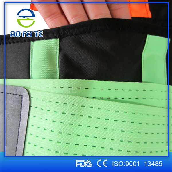 Hot Selling Medical Products Neoprene Waist Trimmer Belt Lower Back Support Belt Brace Back Pain For Heavy Lifting