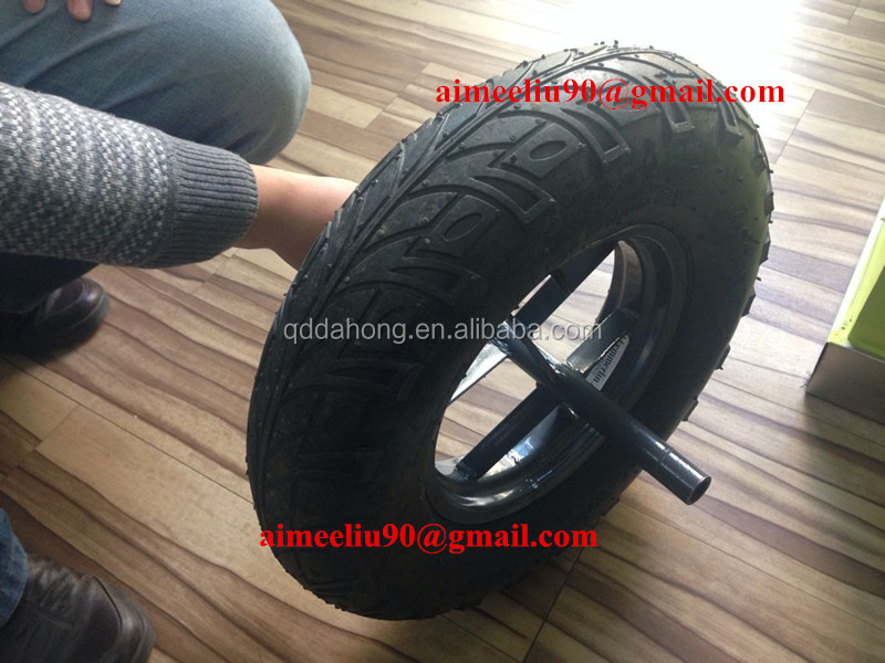 16 inch rubber tyre