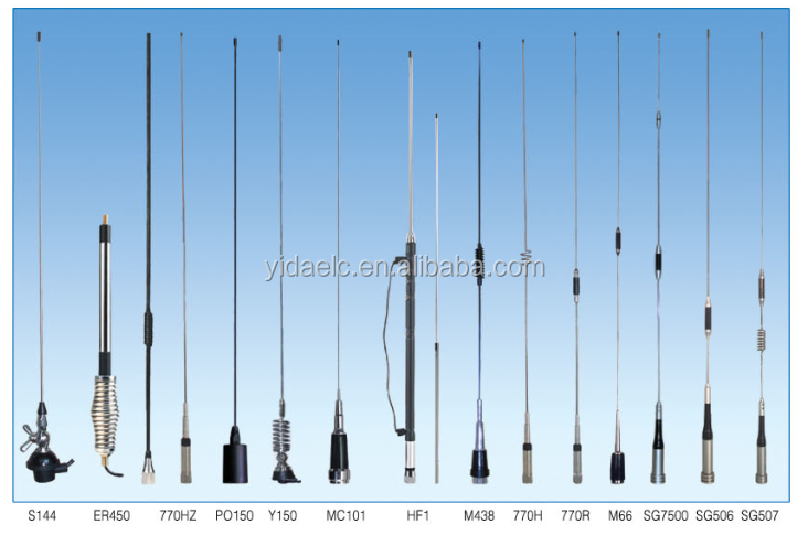 Hot Sale Mobile Antennas 136-174 MHz, 144MHz, etc