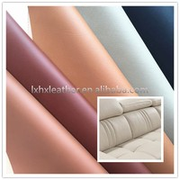 Microfiber PU sofa cover material, raw material for sofa DH084
