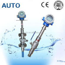 year-end discount insertion electromagnetic waste water flow meter with 4-20mA output