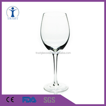 Custom classic high quality hot sell leadfree unleaded crystal glass for red wine/drinking