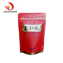 Custom Transparent Safety Stand Up Snack Food Pouch With Zipper