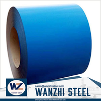 Prepainted GI GL steel coil / PPGI / PPGL color coated galvanized corrugated metal roofing sheet in coil
