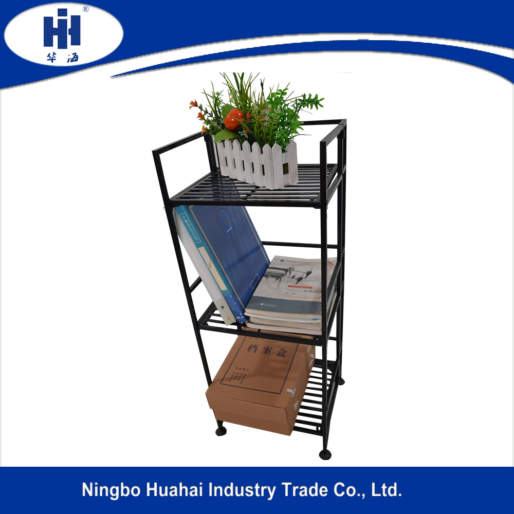 folding metal display stand for flower