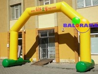 inflatable balloon arch