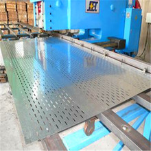 galvanized perforated sheet metal mesh