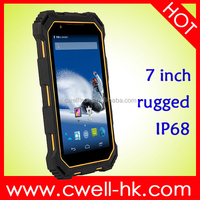 Hot sale IP68 Rugged Tablet PC 7 Inch HD Capacitive Touch Screen Android 4.4 OS Single SIM Card tablet pc with 13mp camera