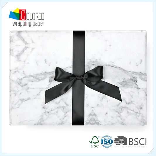 Marble Design Printing Printed Gift Wrapping Paper Wholesale Packaging Paper