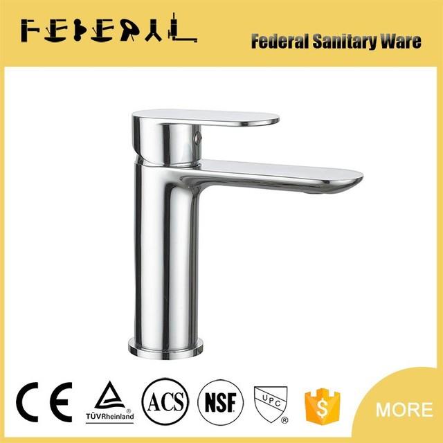 Newest Design High Quality Single Lever Chrome Plating Brass Basin Mixer
