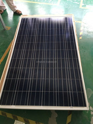 260W Solar Modules PV Panel 1640*990*35/40mm Size and Polycrystalline Silicon Material