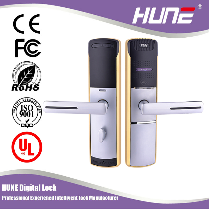 high quality digital card door lock for apartment