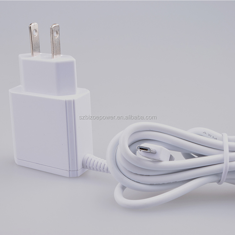 Hot selling wall usb charger,US/EU Micro USB Wall Power Plug Travel Home Wall Charger With Cable