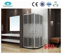 Cheap price Diamond shape modern bathrooms shower enclosure