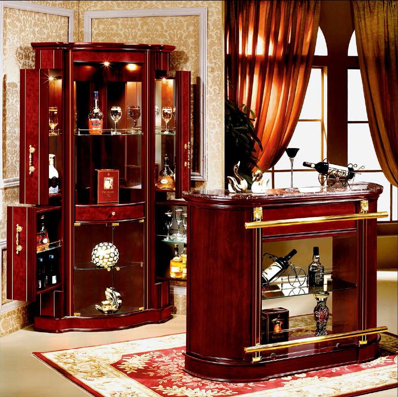 Commercio all 39 ingrosso mini angolo di progettazione casa bar mobili in legno in stile spagnolo - Minibar in legno per casa ...