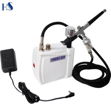 HS08AC-SK mini air compressor airbrush machine for nails painting