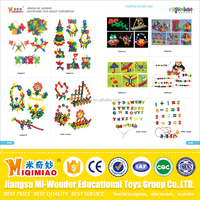 Popular safety material plastic and wooden educational toys for kids from China