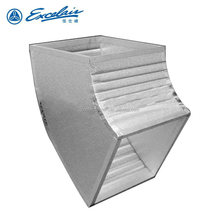 Insulated polyurethane PIP air duct for air condition and ventilation system