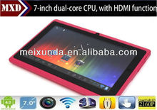 Pop Dual core CPU tablet 7 inch 512MB/4G tablet HDMI function tablet pc