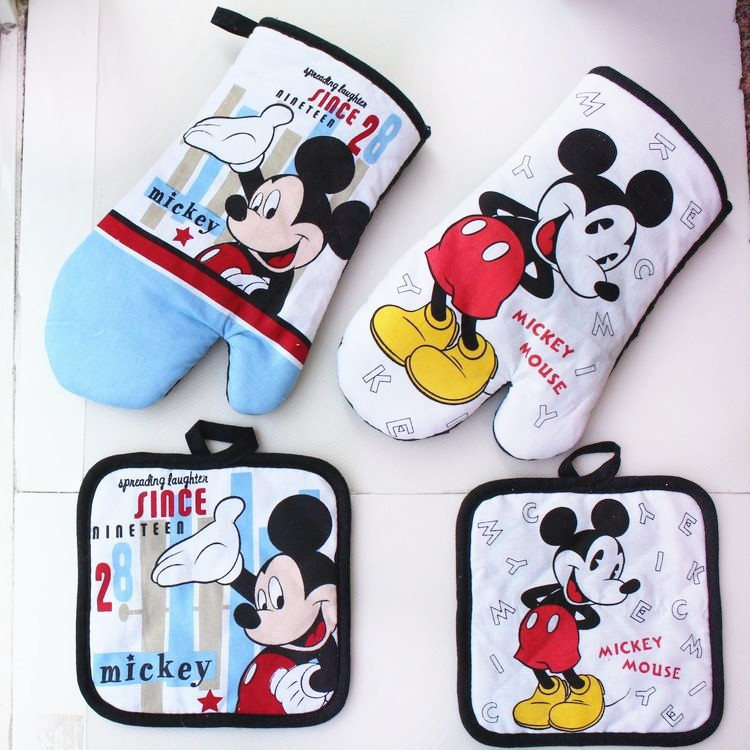 Cheap and High Quality Oven MITT & Pot Pad For One Dollar Item, Kitchen Use