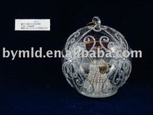 Led Lighted Glass Angel Ball